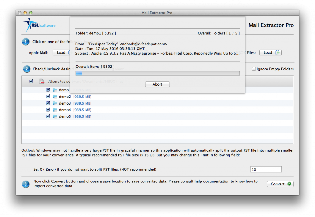 mbox to pst converter for mac