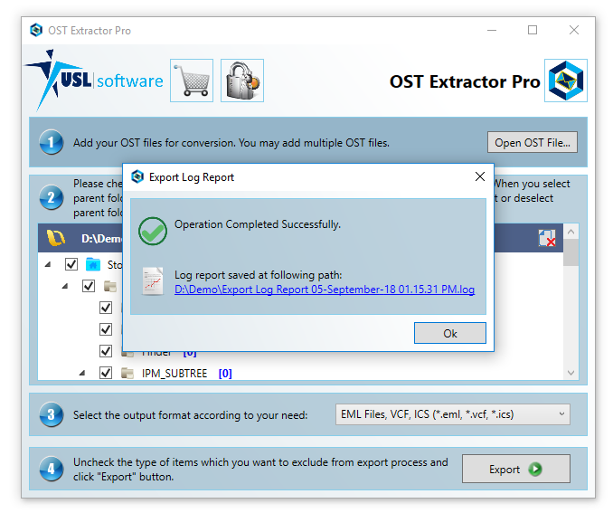 Step 8 how to convert ost to pst