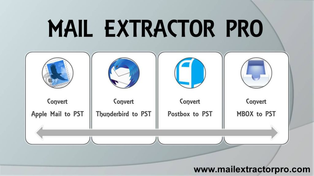 Export mails to Outlook