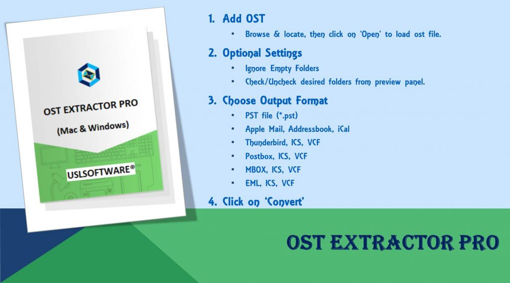 convert ost to apple mail